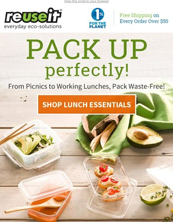 Perfectly Packed—Waste-Free Essentials for Lunch Packing This Season