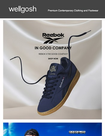 Reebok x The Good Company, adidas Originals x White Mountaineering, Stan Ray, Napapijri and more...