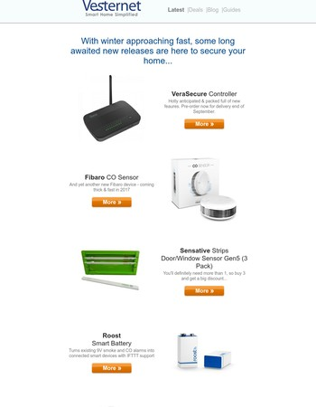 Check out the Latest Smart Home Products