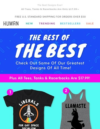 Get Our Greatest Designs Of All Time!