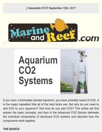 MarineAndReef.com -- Aquarium CO2 Systems