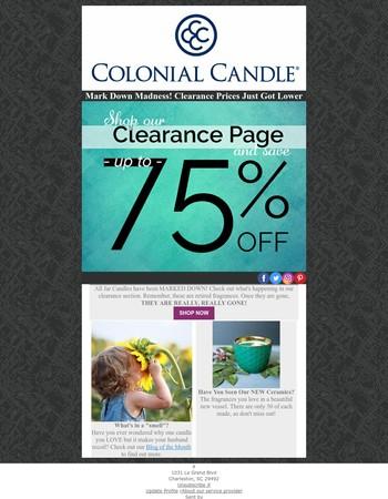 Save 75% off Jar Candles