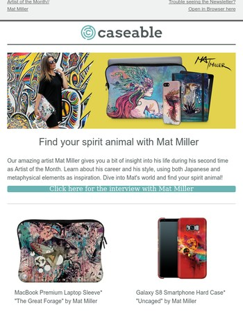What is your spirit animal? Mat Miller can show you!