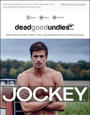 Great NEW fashion underwear from Jockey