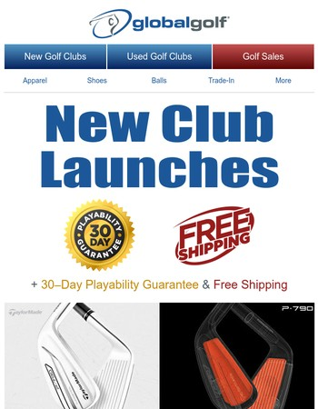 Check out New Clubs From Top Brands
