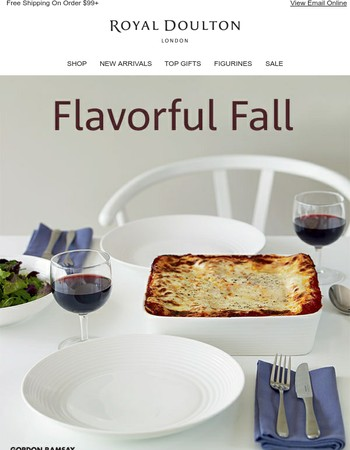 Flavorful Fall