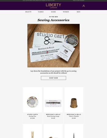The sewing essentials every kit needs