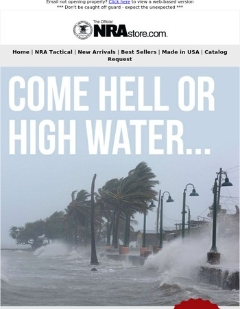 Come Hell or High Water...