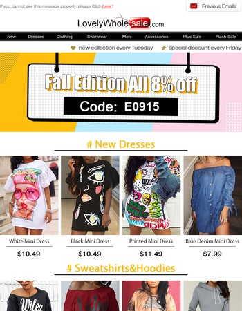 Hi, bf27dcce625f3e3aa0e705e49623b0ee, Fall Edition:New Arrival,All 8% OFF.....