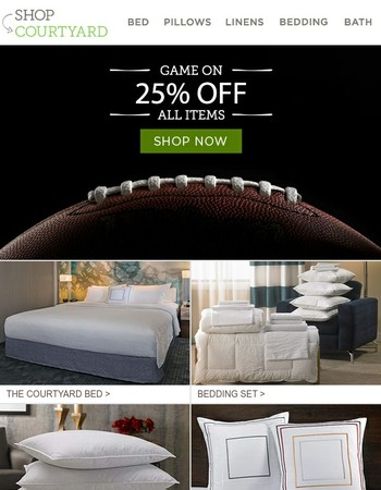 Savings Zone | 25% Off