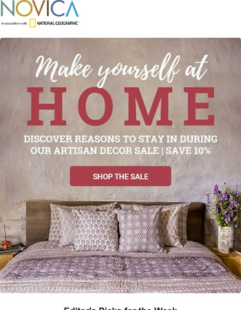 Unique Artisan Decor - On Sale Today!