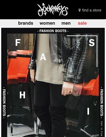 Fall Ready Fashion Boots