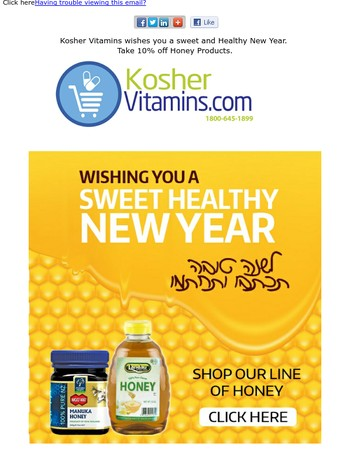 Wishing you a  sweet New Year! Honey Products + Wholesome Honey cookies Recipe