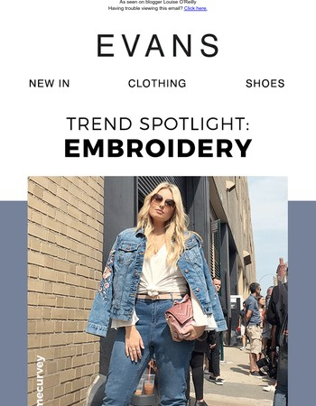 Trend alert! Must-have embroidery
