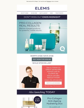 Ends tonight | Don't miss out on our QVC exclusive