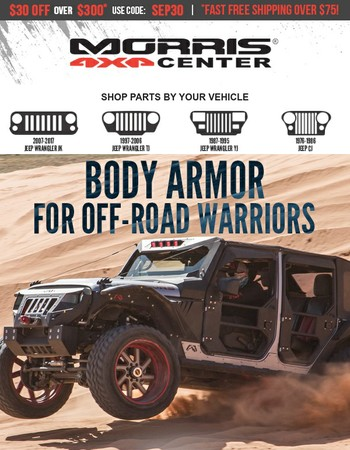 Body Armor for Off-Road Warriors