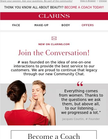 Join the Beauty Buzz In Our New Community Chat!