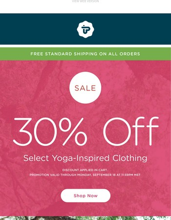 Don't Miss This! 30% On Fall's Softest Clothing