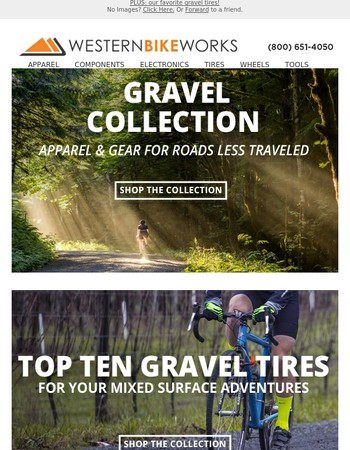 The Gravel Collection - Travel Off-Road in Style