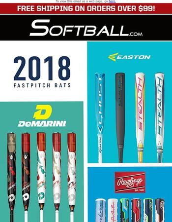 >> NEW << 2018 Fastpitch Bats
