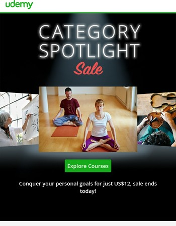 Don't wait—sale on Personal Development categories ends today!