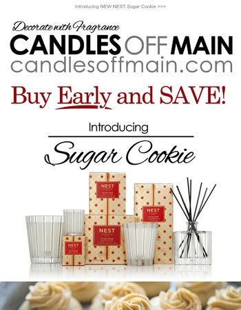 Ends Tonight: 20% Off NEST Holiday Candles