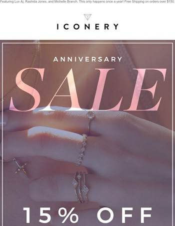 LAST CHANCE!: Anniversary Sale Ends TONIGHT