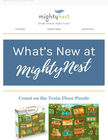 NEW Products at MightyNest!