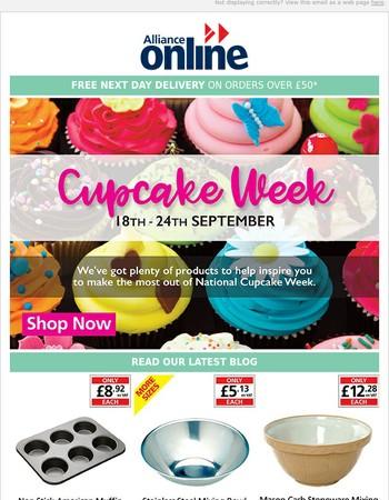 Cupcake Week!