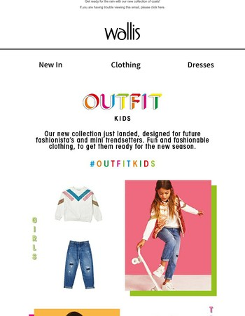 Outfit Kids is here! Get set for Autumn