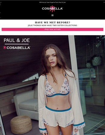 Like Jolie Thongs? Then you'll LOVE these two new collections