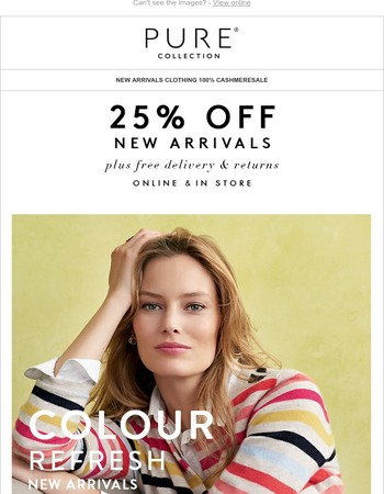 New In! The Cashmere Refresh | 25% Off Your Order