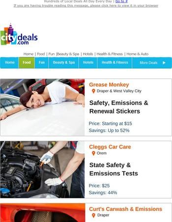 Safety & Emissions