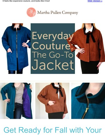 Make Your New Go To Jacket With This Start Anytime Course