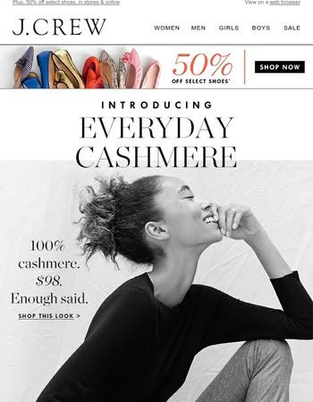 Introducing cashmere under $100