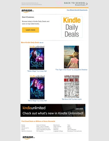 Amazon.ca: Your Monday Kindle Deals