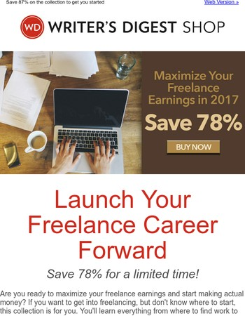 Start your freelance career!