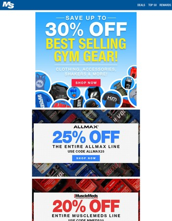 Train Without Limits: Workout Gear Up to 30% Off