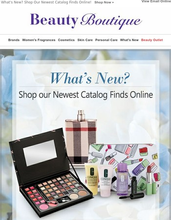 What's New? Shop Our Newest Catalog Finds Online