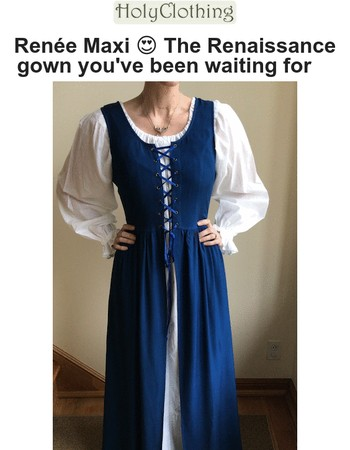New Renaissance Gown! Don't miss out…