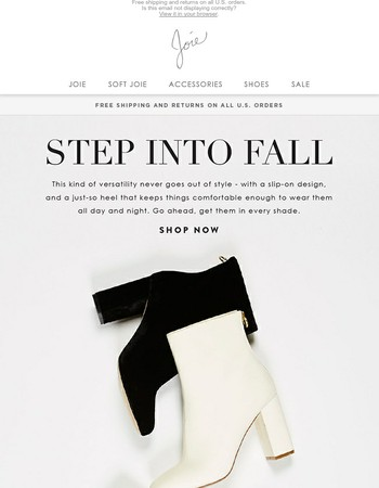 Shop Now | The Fall Bootie Edit