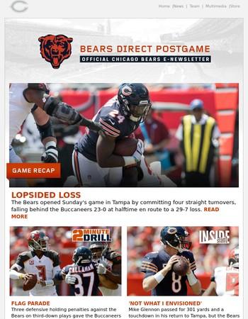 Bears Direct Postgame: Bears 7 - Buccaneers 29