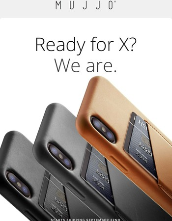Our best cases yet, ready for iPhone X, iPhone 8 and 8 Plus