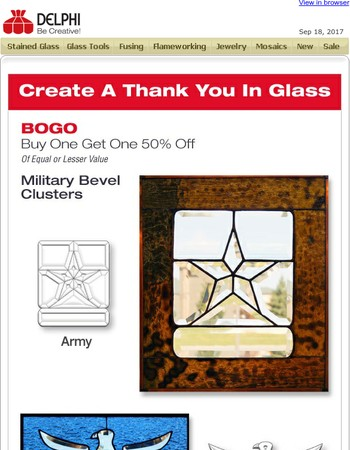 Celebrate Veterans Day - BOGO 50% Off Military Clusters