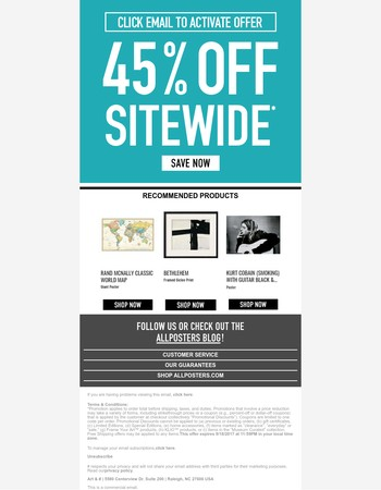 Last Day To Save 45%