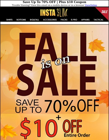 Save Up To 70% OFF | Plus $10 Coupon