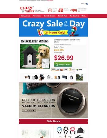 Best Seller, Lowest Price: Ultrasonic Bark Control, Save 33%!