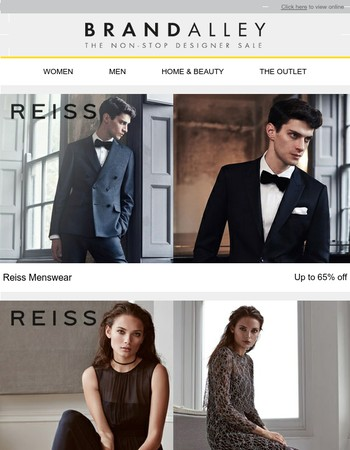 Reiss Menswear, Reiss Womenswear, UGG, Official Formula One Merchandise, Lands' End, Fashion Ankle Boots & Christmas Shop
