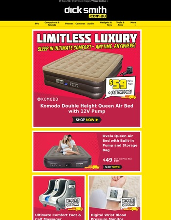 The Ultimate Camping Mattress Now $59 (Was $99)