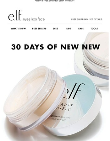 Day 19: Beauty Shield Powder #elfnewnew